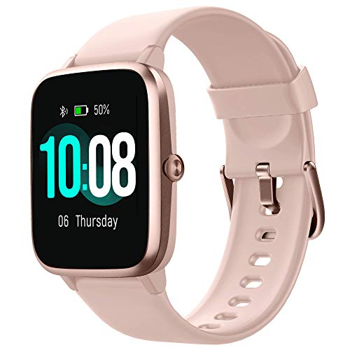 GRDE Smartwatch, Reloj Inteligente Impermeable IP68 con Monitor de Sueño Pulsómetro Podómetro Caloría GPS para Deporte…