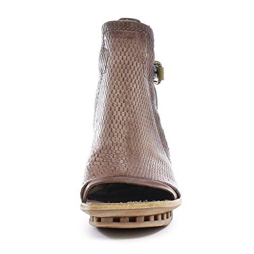 A.S.98 Zapatos Altos Calmora 949005-101 Grunge Nero Airstep as98 Grunge/Nero