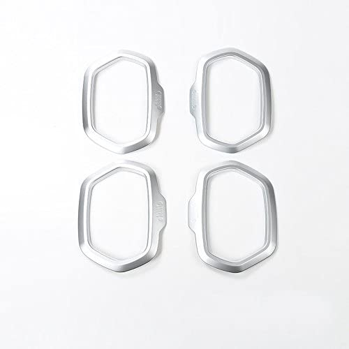 Cornici dei Altoparlante Matte Plastica ABS 4 pezzi per Renegade 2015-2019