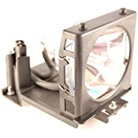 Electrified PJTX100ULAMP / DT-00661 Replacement Lamp with Housing for Hitachi Projectors
