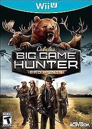 WIIU CABELAS BIG GAME PRO HUNT