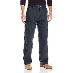 Wrangler Authentics Mens Classic Cargo Twill Pant
