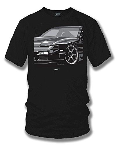 Wicked Metal 240sx, Nissan 240 t-Shirt, Street Racing, Tuner car, Muscle car Shirt