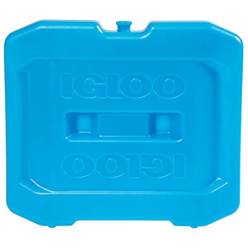 Igloo MaxCold Ice Extra Large Freezer Block, Blue, 12 Large x 1.75 W x 10.5 H