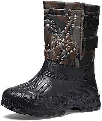 ブーツ メンズ スノーブーツ スノーシューズ 防水 防寒 防滑 裏起毛 カジュアル 綿靴 雪靴 アウトドアシューズ トレッキングシューズ