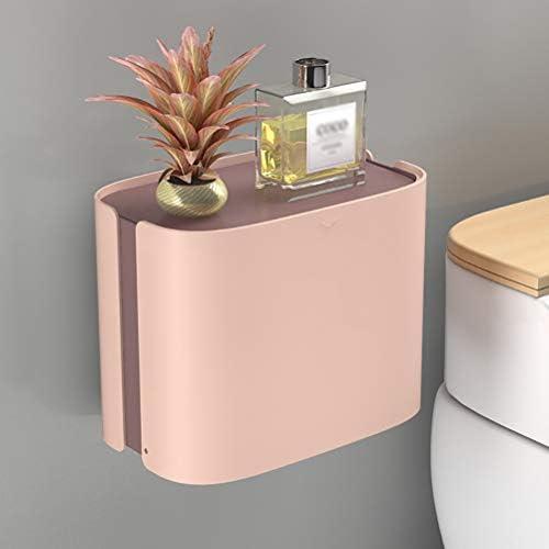 ポータブルトイレットペーパーホルダー、衛生ペーパーディスペンサーホームバスルームアクセサリー、壁掛け式バスルームティッシュボックス