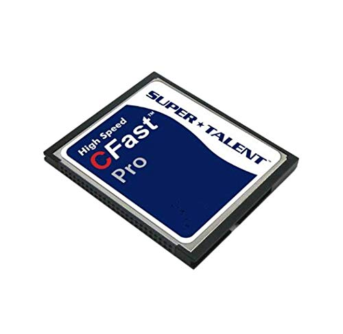 Super Talent FDM512JMDF Cfast Pro 512GB Storage Card (MLC)