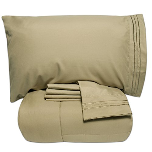 Bed In A Bag Sage Green - 7
