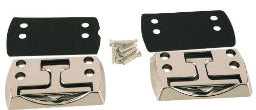 Truck Bed Hooks (Erickson 09094 2Pk Hide-A-Hook with Flip-Up Cleat Truck / Trailer Anchor, (Pack of 2))