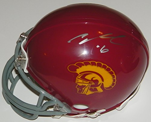 Cody Kessler Signed Autographed Auto USC Southern Cal - Pac 12 Mini Football Helmets