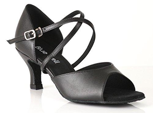 Blue Bell Shoes Handmade Women's Ballroom Salsa Wedding Competition Dance Shoes The Melissa 2.5