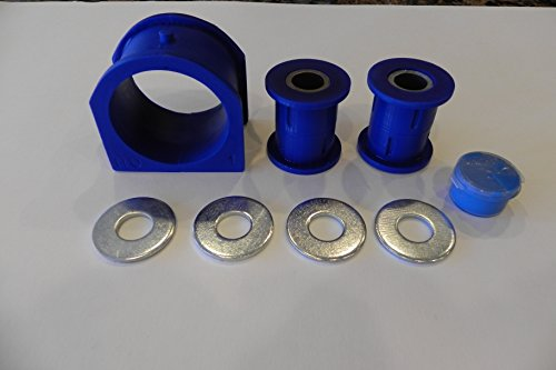 Hummer H3 2006-10 Steering Rack Bushing Set Polyurethane New (Rack Steering Set)