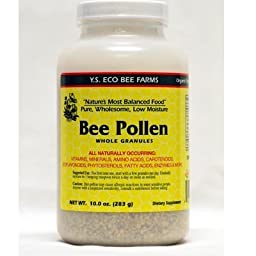 Bee Pollen - Low Moisture Whole Granulars - 10 oz (Pack of 3)
