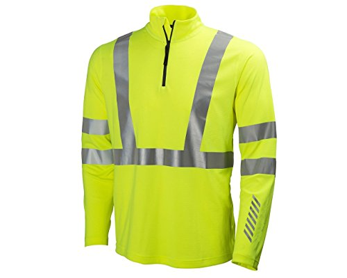 Helly Hansen 75019_360-3XL Esbjerg Hi-Vis Poloshirt, 3X-Large, Yellow by Helly Hansen