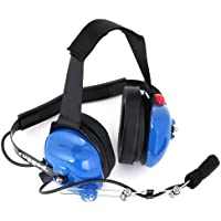 Rugged Radios H42-LTBLUE Light Blue 2-Way Headset