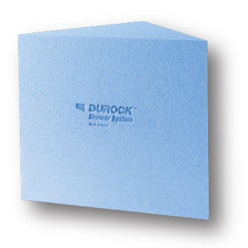 "USG Durock Shower System- 16"" x 20"" x 16"" Shower Bench - Triangle"
