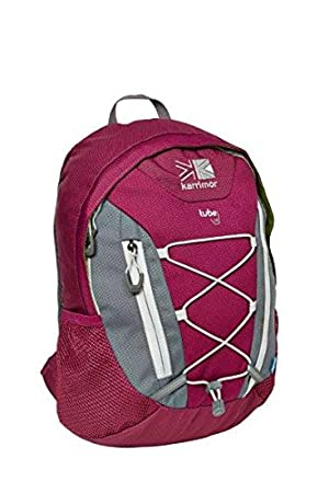 Karrimor Mens Tube 10 Litre Coolmesh Zip Pocket Daysack Backpack