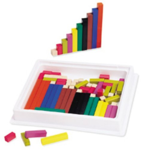 Cuisenaire Rods Introductory Set (ETA Hand2Mind Cuisenaire Rods Set in)