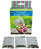 Lunch Cooler Pack Of 3 Lunch Box Lunch Bag Fresh Cool Chilled Food