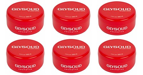 6 Glysolid Skin Cream Jar Large 6.76 fl oz (200ml)