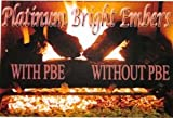 Peterson Gas Logs PBE5 Platinum Bright Embers