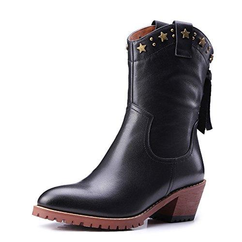 boots negro Nine mujer SevenAnkle Botas PqxUp