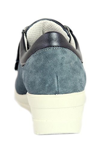 Soft Camoscio Donna Blu Enval Scarpe qdpxnX
