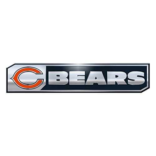 Accessories Bears Chicago (NFL Chicago Bears Truck Emblem, 2-Pack)