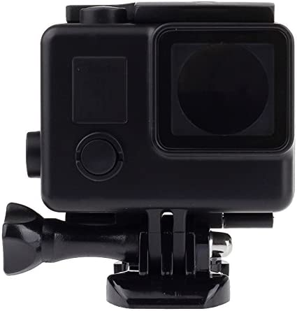 Black Edition Waterproof Housing Protective Case with Buckle Basic Mount for GoPro HERO4 //3+ Black XHC Protective Case Color : Black Waterproof Depth: 10m
