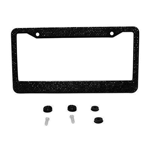 cute black license plate frames - 7