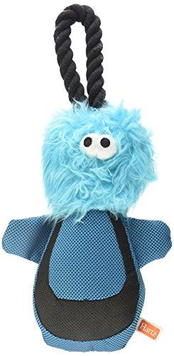 Hartz Tuff Stuff Faces Nylon Plush Rope Dog Toy