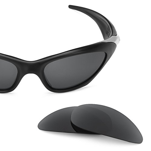 Revant Replacement Lenses for Oakley Scar Polarized Stealth Black