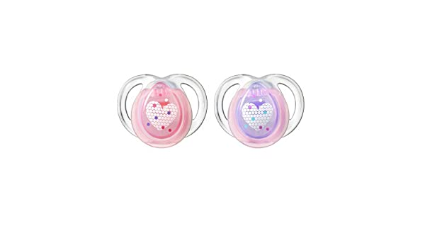 Tommee Tippee Closer to Nature - Night Pacifier, 0 - 6 meses ...