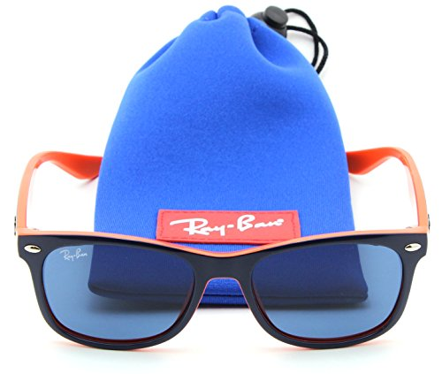 Ray-Ban RJ-9052S 178/80 New Wayfarer JUNIOR Sunglasses Blue, - Ban Sunglasses Baby Ray