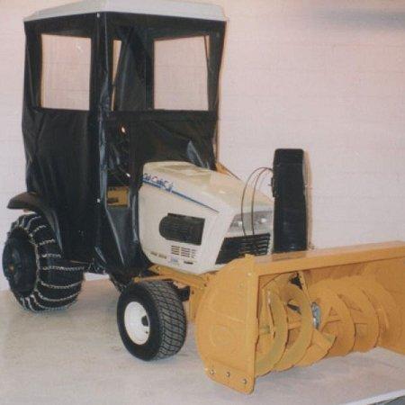 Hard Top Cab Enclosure For Cub Cadet 40, 60, and 80 Series Garden Tractors