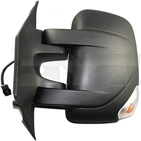 Aftermarket 388-OPD382TL-8602 Left Passenger Side Wing Mirror Electric, Heated, Amber Indicator