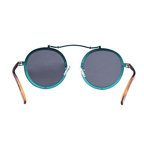 B Retro estilo HD Gafas marco pareja lente B HONEY sol prueba polarizadas Color de explosiones de a redondo personalizado Uq6SnOx8nw