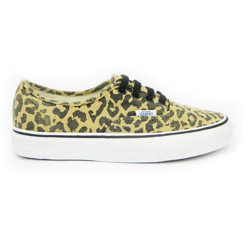 shop exquisite style best supplier Vans Authentic Womens Canvas Lace Up Doren Leopard Print ...