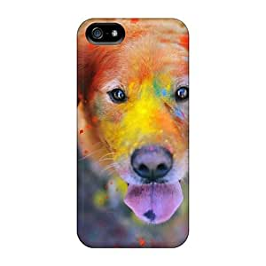 Fashionable Style Case Cover Skin For Iphone 5/5s- Color Dog by supermalls