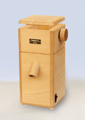 hawos Easy Stone Grain Flour Mill in Wood 110 Volts 360 Watts Grinding Rate 4 oz / min by Happy Mills (Image #5)