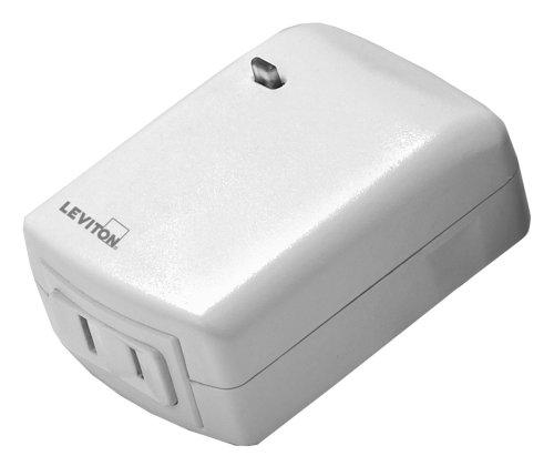 Leviton Vizia RF+ Smart Plug, Scene Capable, Lamp Dimming, Works with Amazon Alexa