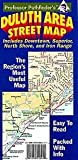 Front cover for the book Duluth, MN, Area Street Map by Hedberg Maps