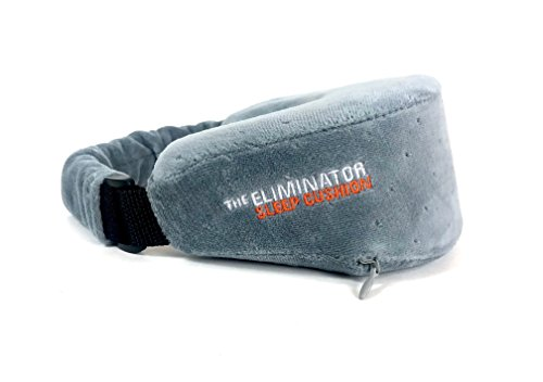 The Eliminator Series Washable Travel Sleep Pillow (Sleepy Grey)