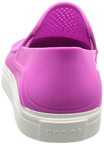 para Citlnrkaslpw Crocs Casa por Violet Vibrant Mujer de Zapatillas Estar xvwwUqYd