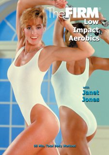 The Strong DVD Classic 'Vol 2 Low Impact Aerobics' by Anna Benson with Janet Jones