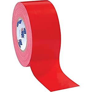 """Top Pack Supply Tape Logic Duct Tape, 10 Mil, 3"""" x 60 yds. Red (Case of 16) from Top Pack Supply"""