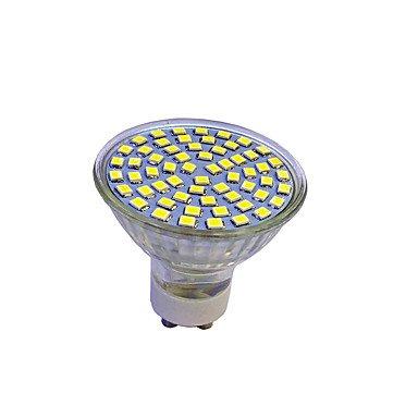 3W LED Spotlight GU10 60 SMD 3528 280-320 Lm White/Warm White AC220-240V 5Pcs , 220-240v