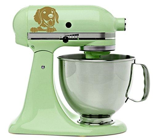Golden Retriever Kitchenaid Mixer Mixing Machine Decal Ar...