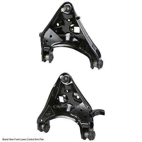 97 Ford Explorer Control Arm (Pair Brand New Left & Right Front Lower Control Arm Kit For Ford And Mercury - BuyAutoParts 93-80041K1 New)