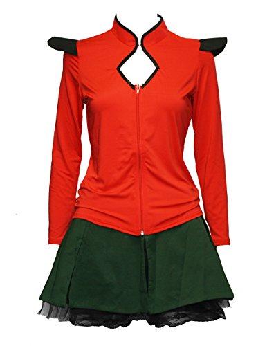 BSLINGERIE Ladies Funny Space Fighter Long Sleeves Jacket Costume (M,...